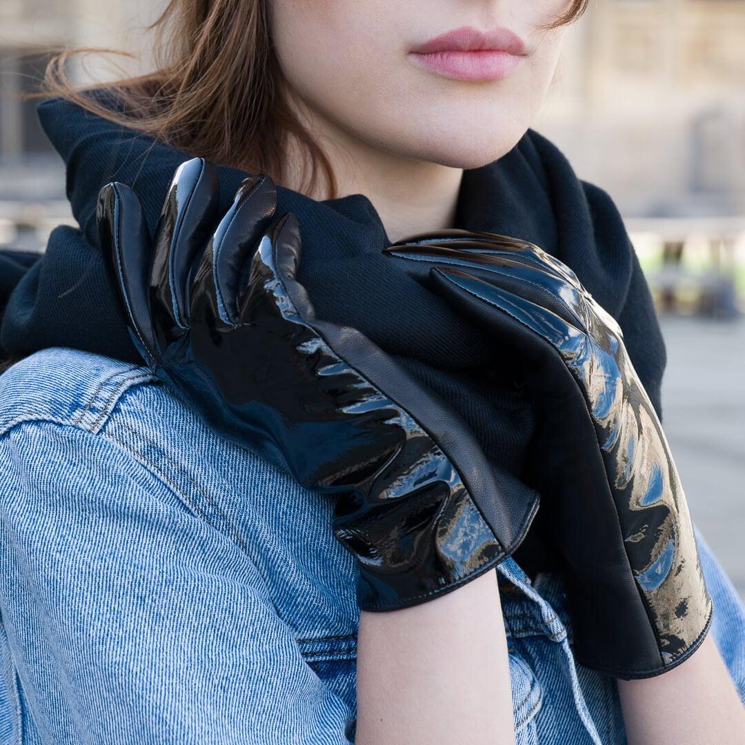 Połyskujące rękawiczki napo gloves