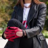 Rękawiczki samochodowe dla kobiet