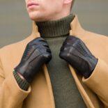 Zimowe rękawiczki dla niego