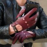 Stylowe rękawiczki samochodowe
