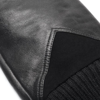 Ocieplane rękawiczki ze skóry napoSPORT