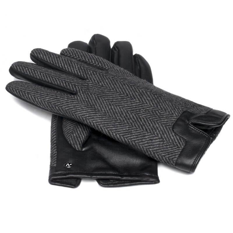 Rękawiczki ze skóry ekologicznej