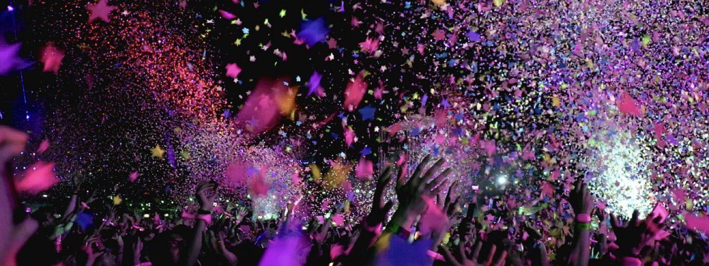 Rękawiczki na festiwal muzyczny