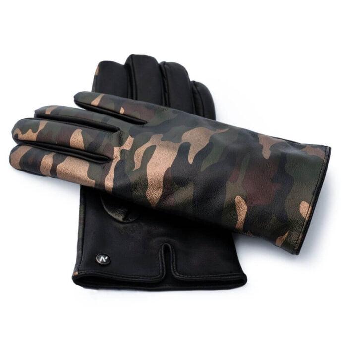 Rękawiczki moro dla mężczyzn