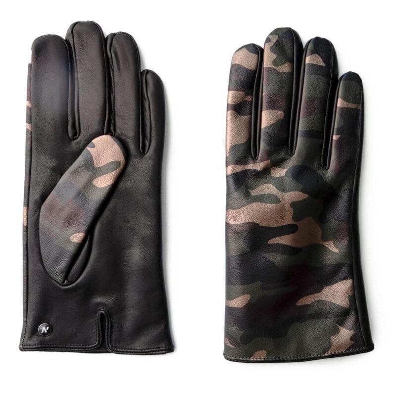 Rękawiczki camo męskie