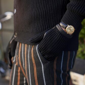 Retro rękawiczki samochodowe męskie czarne