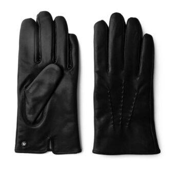 Skórzane klasyczne rękawiczki