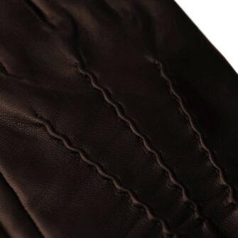 Klasyczne brązowe rękawiczki