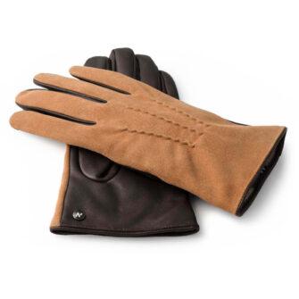 Zamszowe rękawiczki